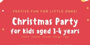 Join us for festive fun at our ISF Toddler Christmas Party