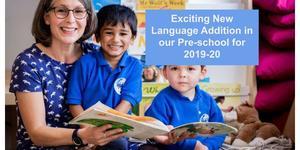 New Language Addition to Pre-School