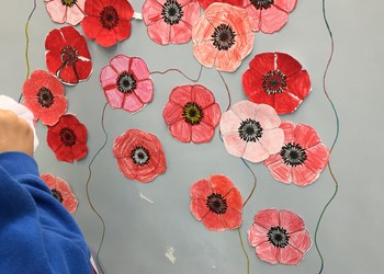 ISF commemorates WW1 with our local commune