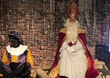 Sinter Klaas visits ISF Tervuren