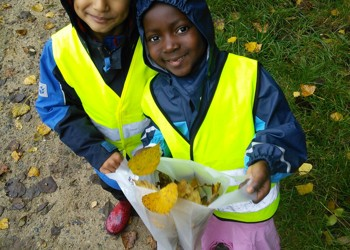 Early Years Autumn Walk