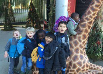 Pre-Primary's visit to Planckendael Zoo.